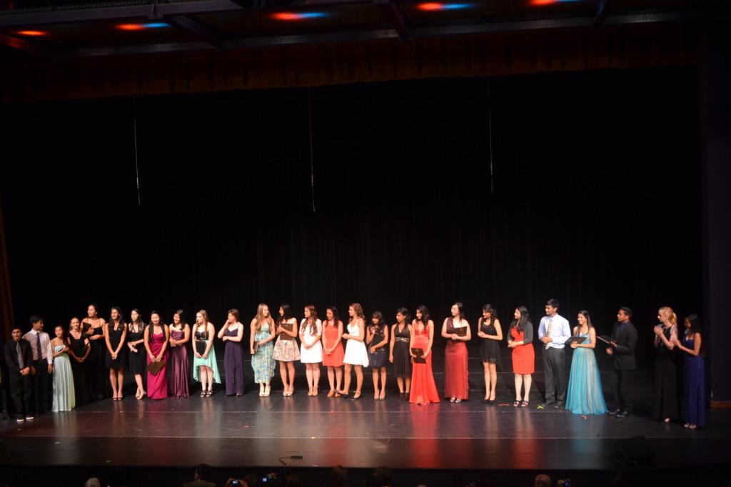 Seniors+line+up+to+accept+their+awards+for+successfully+completing+the+Conservatoy+Certificate+program+of+performing+arts.+After+four+years+of+persistent+effort%2C+they+were+able+to+put+on+a+performance+that+showcased+their+finely+sharpened+skills+in+their+chosen+major.++
