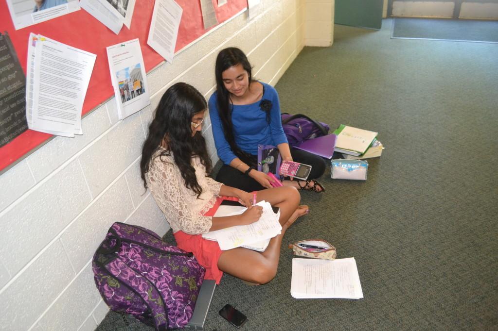 Students study as finals approach harker aquila sophomoreskarnikapombraandankitapannustudyfor ccuart Image collections