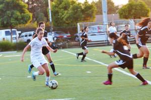 Girls' Varsity soccer defeats Eastside College Prep 9-0