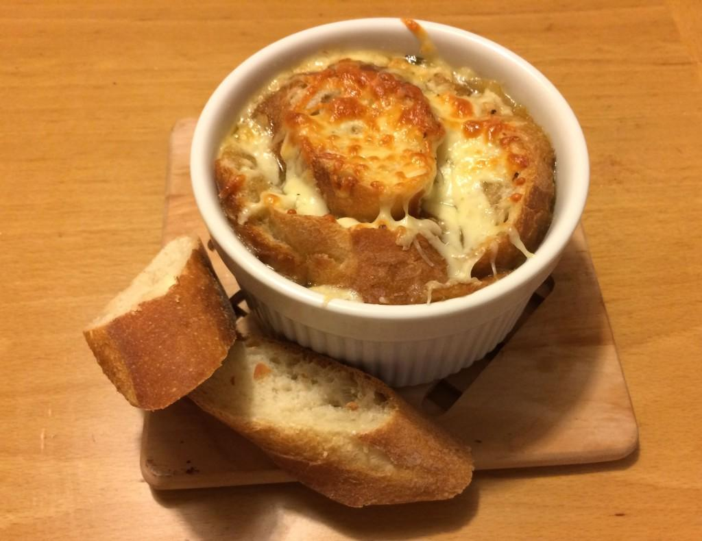 In a Nut Shell: French onion soup