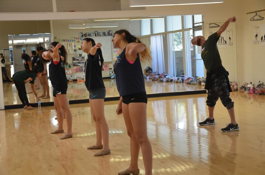 Dancers rehearse for annual production