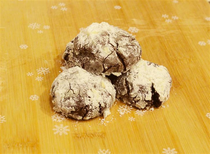 In a Nutshell: Snowcap Cookies