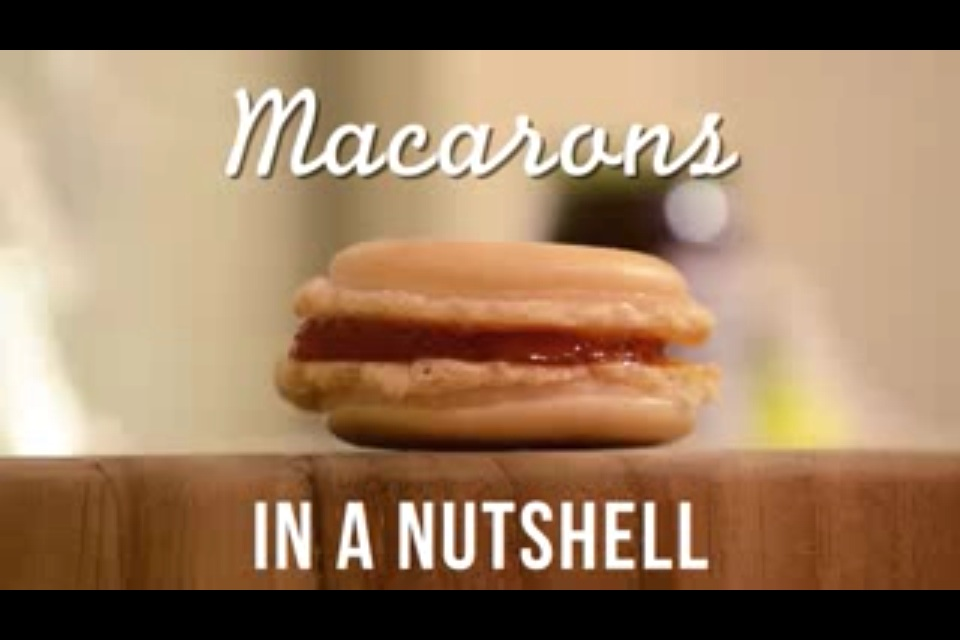 In a Nutshell: Vanilla Macarons