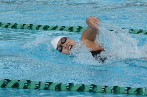 Q+A profile with Varsity swimmer Kimberly Ma