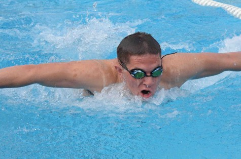 Swimmers compete against King's Academy