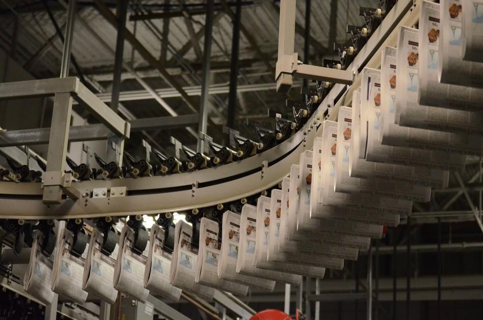inside the new york times printing press harker aquila