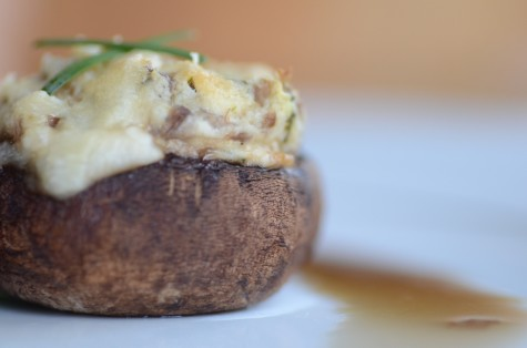 In a Nutshell: Stuffed Mushrooms (Prom Menu Part 2)