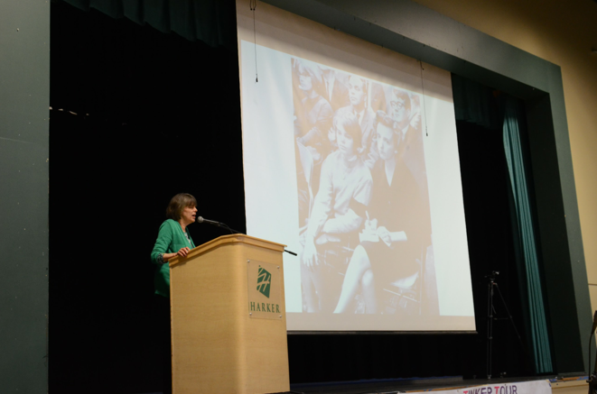 Karen Korematsu shares with the student body her father's struggle for his rights as an American citizen during the period of Japanese internment. Along with Mary Beth Tinker and Frank LoMonte, Korematsu encouraged students to exercise their rights and stand up for the issues they find important.