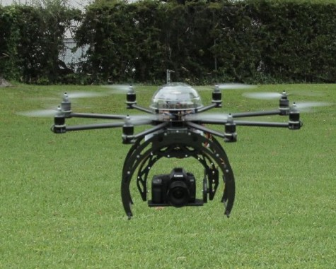 Flying into the future with commercial drones