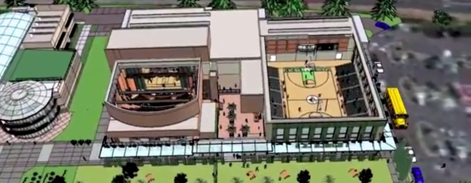 The new Events Center construction plans have begun with the fundraiser launch for the project, for which Upper School parents Jeffrey and Marieke Rothschild committed to matching donations up to $10 million.