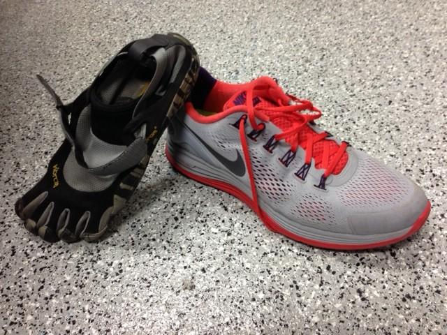 Running with the right shoe – Harker Aquila