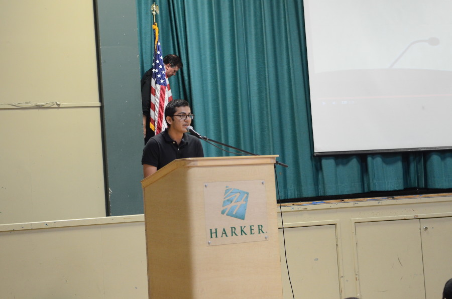 Senior Arya Kaul discusses the JSA conventions. The first of three JSA Conventions, Fall State, will take place from Nov. 15 to 16.