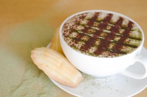 In a Nutshell: Matcha Coconut Mocha