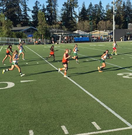 Girls' varsity lacrosse loses 10-7 to Woodside