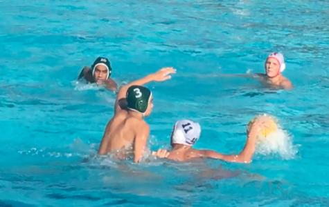 Varsity boys water polo loses to Saratoga