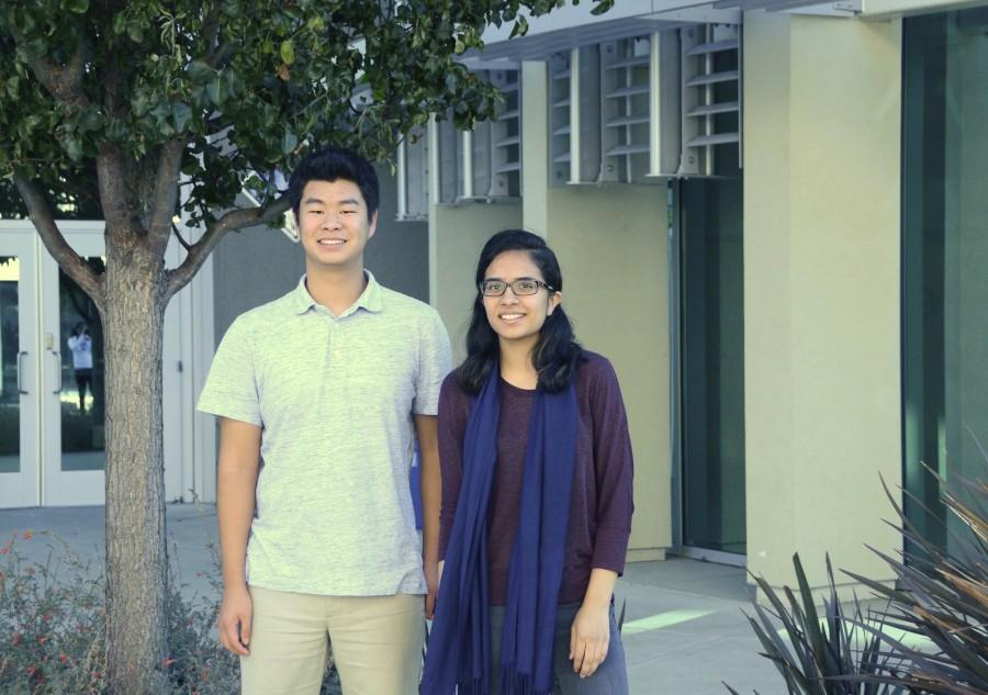 Juniors David Zhu and Evani Radiya-Dixit were named reigonal finalists in the 2015 Siemens Competition. 11 other students were named semifinalists.