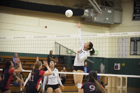 Varsity volleyball players Doreene Kang and Rachel Cheng recognized in the Mercury News