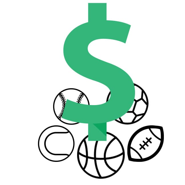 Image result for sports and money clip art