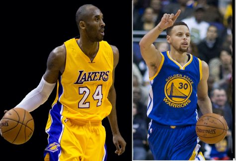 Kobe Bryant (left) and Stephen Curry (right) both had record-breaking performances on Apr. 13. But the interesting maturation of both players suggests the vital role of criticism in sports and media perception in sports.