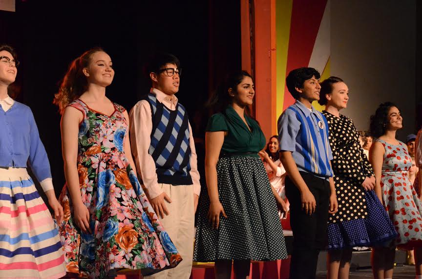 Upper school students perform in the spring musical Bye Bye Birdie, showing on Thursday, Friday, and Saturday night.
