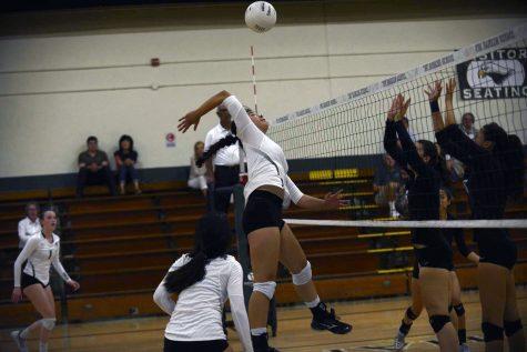 Varsity girls volleyball loses against Homestead High School in season-opener