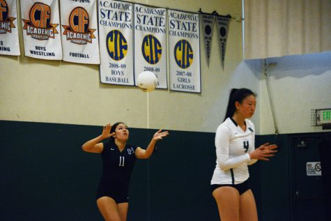 Varsity girls' volleyball loses to Monte Vista Christian