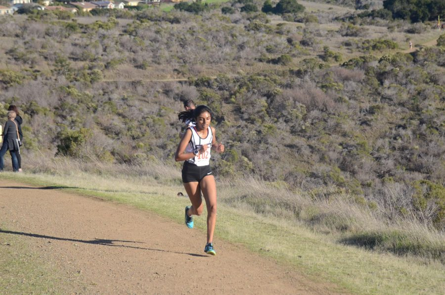 Niki Iyer runs in the WBAL finals. She was named one of The Mercury News' Athletes of the Week from the South Bay/Peninsula area.