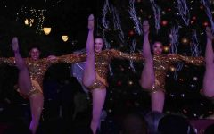 Students perform at Santana Row Tree Lighting Ceremony