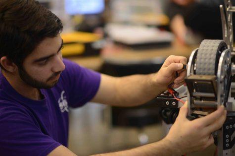 Humans of Harker: Vedaad Shakib programs robots