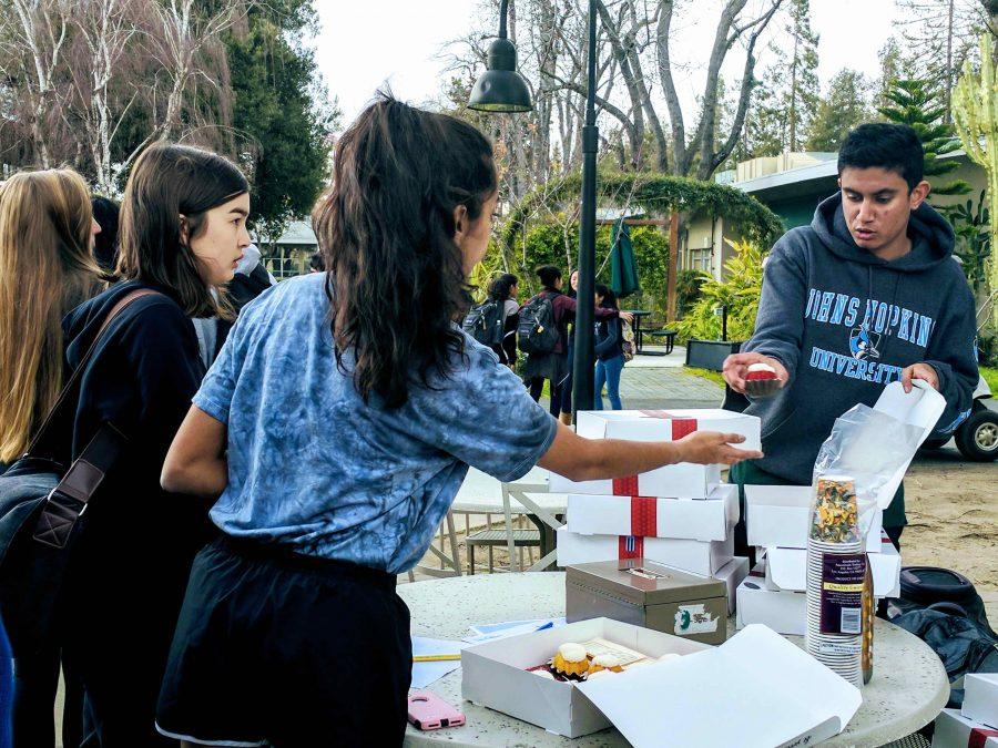 FPS members sold chai tea and Bundt cakes during FPS club week before break.
