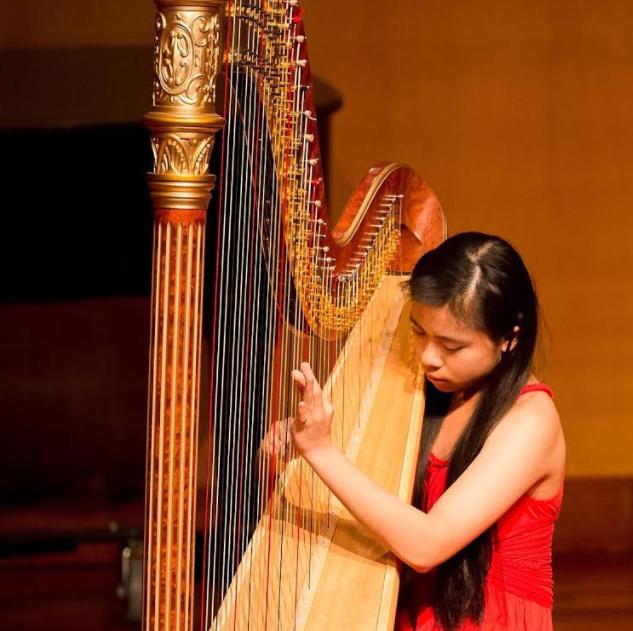 Tiffany Wong to perform at World Harp Congress as one of five chosen American representatives