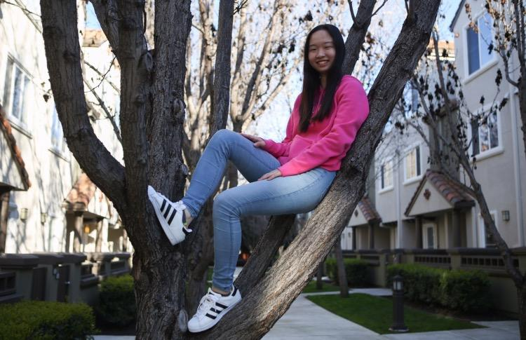 """""""Music is literally my closest friend. I can play anything. When I'm sad, I can play sad pieces. It's a way of expressing myself and it's also a way for me to understand myself. I can see how bad my mood is from piano,"""" Tina Li (12) said."""
