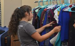 A new perspective on second-hand clothing: students and faculty participate in clothing swap