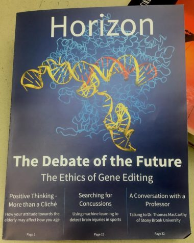Student-run science magazine Harker Horizon releases first issue