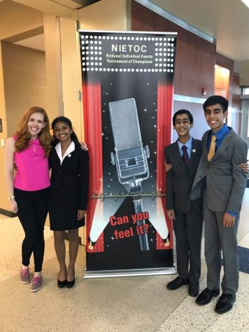 Three Harker speakers finish strong at NIETOC 2017