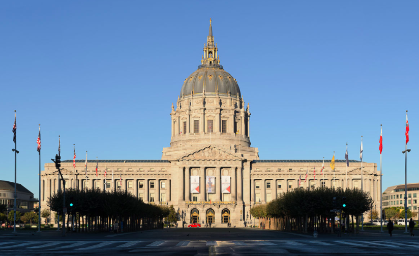 The San Francisco City Hall, where the Office of Civic Engagement and Immigrant Affairs is located.