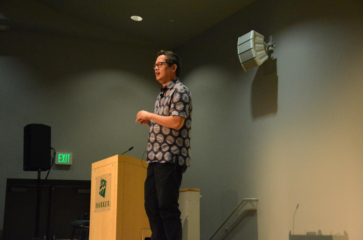 Executive Director of Stanford's Institute for Diversity in the Arts Jeff Chang speaks about his cultural background as a native of Honolulu. He cited reggae, Hawaiian folk and Hawaiian guitar music as three main music styles that drew him to hip-hop.