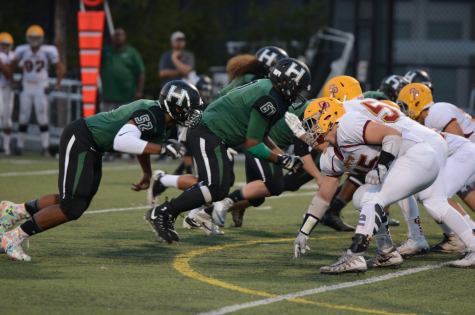 Varsity football team beats Cupertino High in first home game
