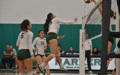 JV and varsity girls' volleyball teams score victories against Westmont