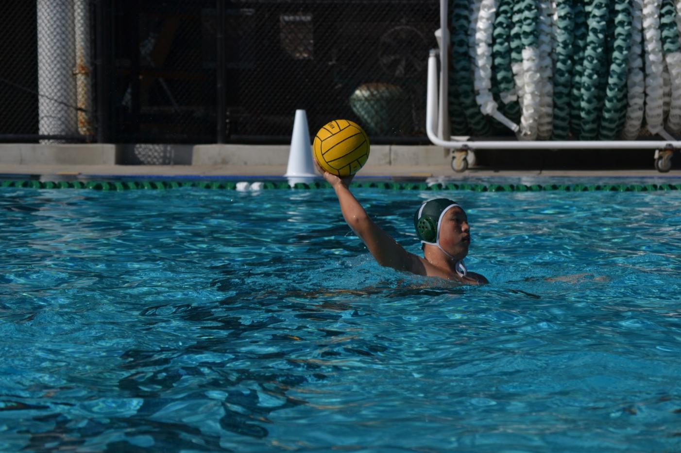 Boys' varsity water polo wins close match against Lynbrook