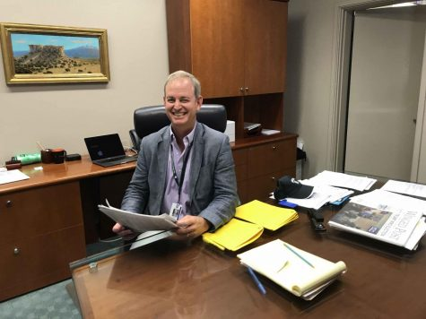 New Head of School Brian Yager begins first year