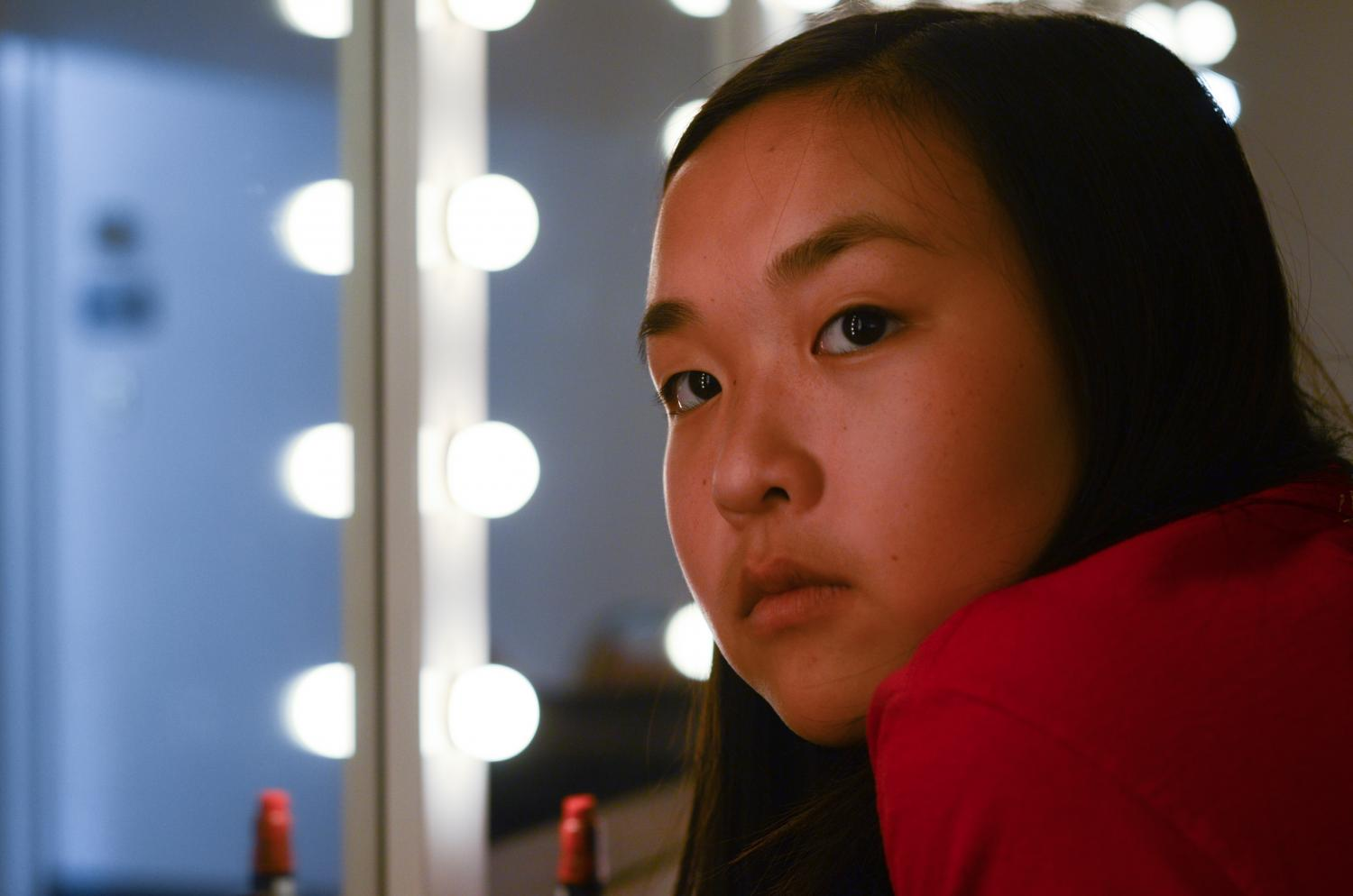 """""""I don't think I have any regrets. I think about it, and if I did change any of it then my life would be different, and I don't want it to be. I like where it is right now,"""" Charley Huang (12) said."""