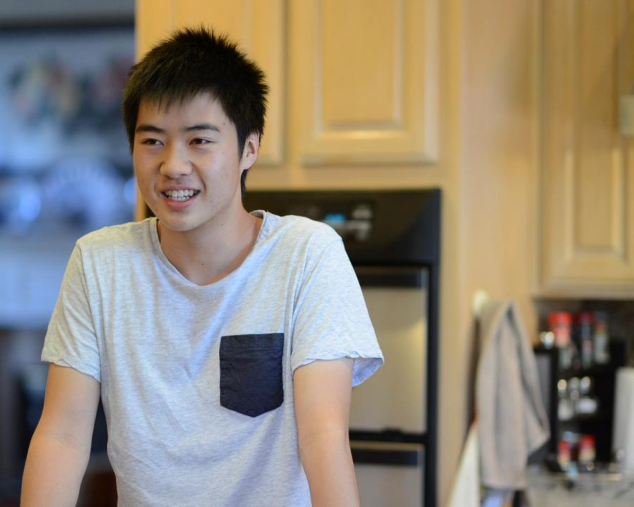 """I'm the type of person to look at the recipe, but when I actually go cook it I'll avoid following it and just go by my own taste,"" David Wen (12) said."