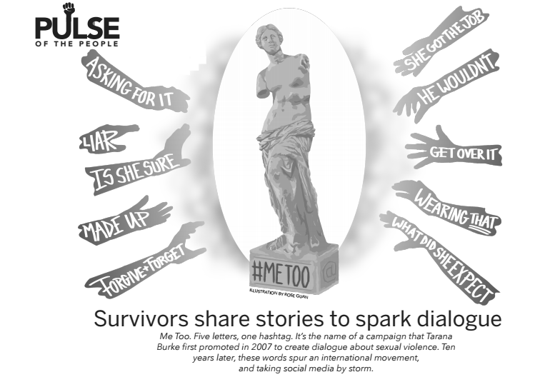 Pulse of the People: Survivors share stories to spark dialogue