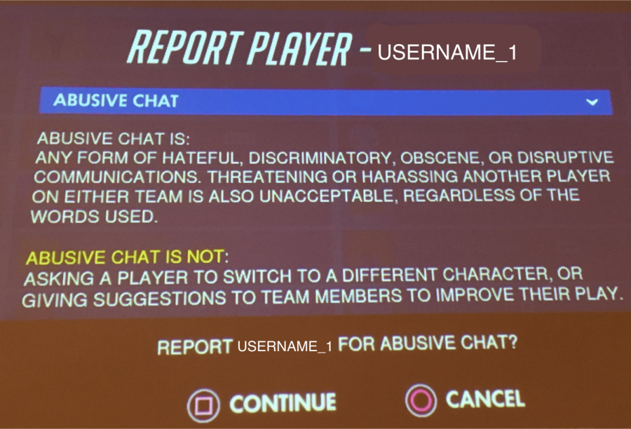 A+screen+for+reporting+aggressive+chats+is+displayed.+Gamer+aggression+is+a+significant+problem+in+the+gaming+community.
