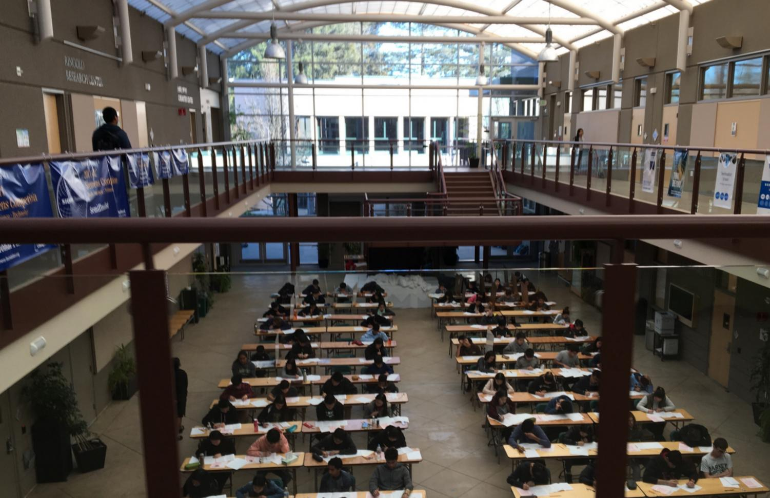 Last year's AMC 10 and 12 exams were held at 8 a.m. in Nichols Atrium on Feb. 20. According to Dr. Aiyer, around 120 students will be taking one of the exams this year, which will both be held next Thursday.