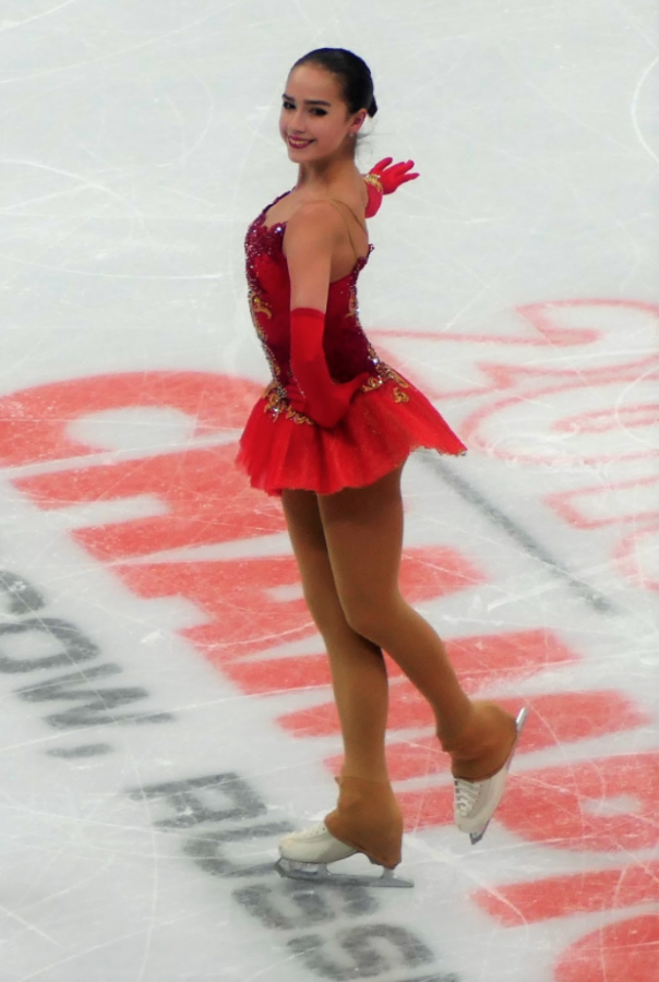 Alina Zagitova performs her free program at the 2018 European championships in figure skating in Moscow. She won the gold medal in the Ladies Single Skating Event in the 2018 Olympics.