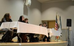 Students discuss gun control in after school nonpartisan gun debate, town hall