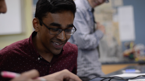 Humans of Harker Video: Rajiv Movva strives for answers