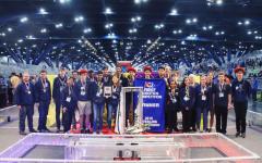 Robotics win in world championship subdivision marks historic season